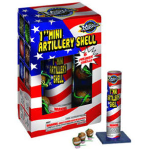 290E~ 1″ MINI ARTILLERY – Welcome to Wald Fireworks, Co